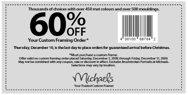 printable michaels coupons