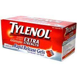 Tylenol Rapid Release gelcaps