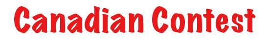 Canadian Contest