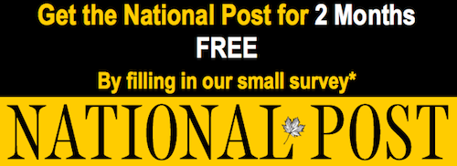 Free National Post Subscription
