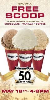 haagen daz free flavor day