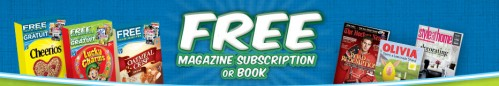 Free Magazine Subscription or Book