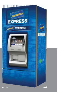 Blockbuster Express kiosk