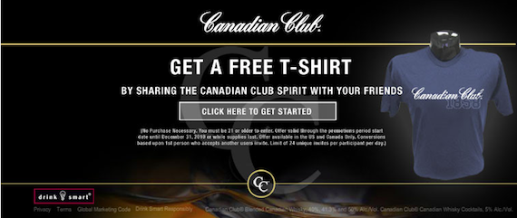 Canadian Club T-shirt