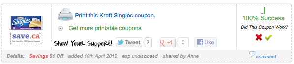example printable coupon