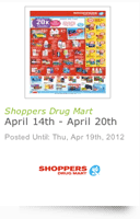 example shoppers drug mart flyer from flyerland.ca