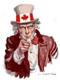 We want you Canada!