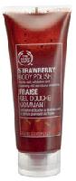 Strawberry polish at body shop