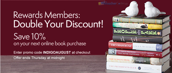 Extra 10% off at Chapters
