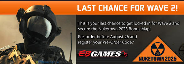 EBGames Call of Duty