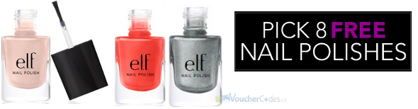 Free Nail polish from E.L.F