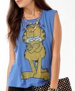 Garfield Shirt at Forever 21