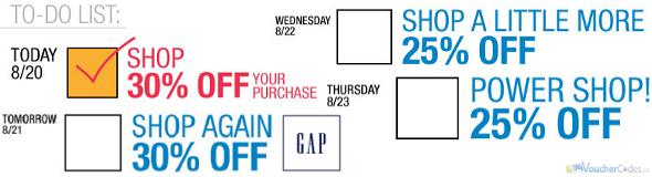 Gap Save More offer