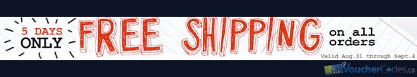 Garage Free Shipping Promo