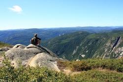 Hiking La Malbaie Quebec