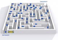 2013 Ikea maze