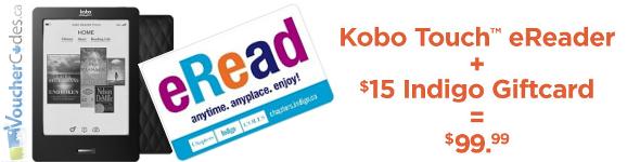 Indigo Kobo Offer