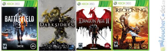 50% off top titles at Origin games