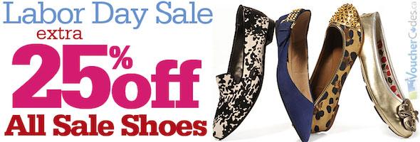 Shoes.com Labor Day Sale