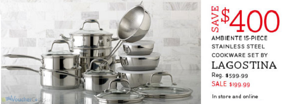 Save on Cookware at The Bay