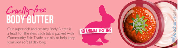 BodyShop Cruelty Free Product