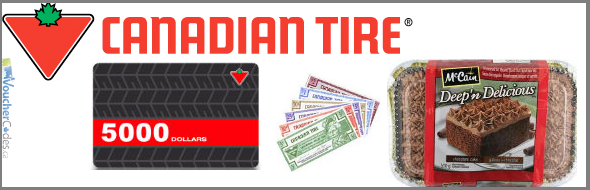 Scratch and Save at Canadian Tire