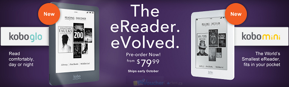 Pre-order the new eReaders from Indigo