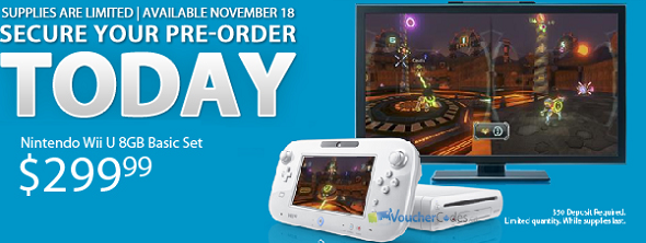 Pre-Order the Wii U from EbGames