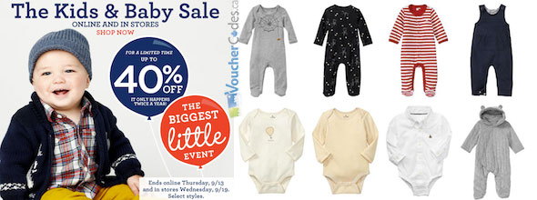 Gap Kids and Baby Sale
