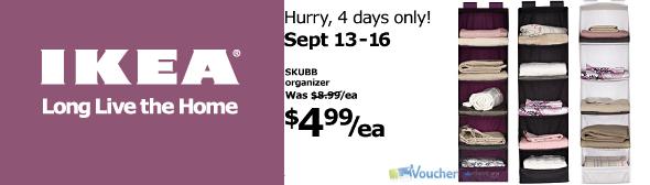 Sale at Ikea