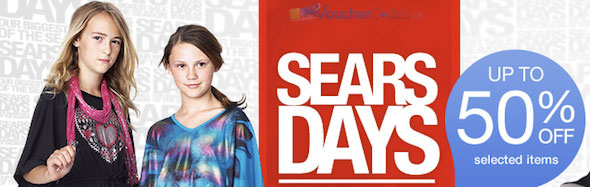 Sears Days + Coupons