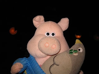 Sherlock the pig