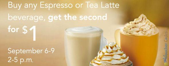 Starbucks Latte Promo