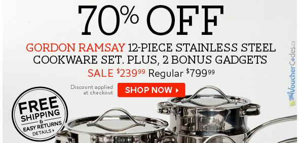 The Bay Gordon Ramsay Cookware