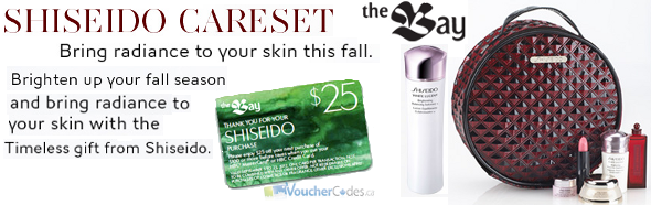 Shiseido Gifts and more at The Bay