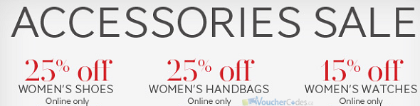 Up to 25% off Select items at the Bay