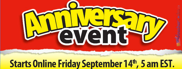 Walmart Anniversary Event