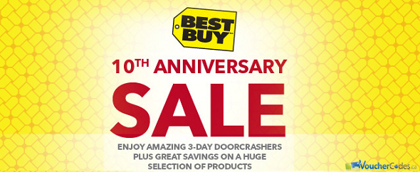 Best Buy anniversary event