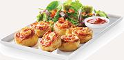 Boston Pizza Pinwheels