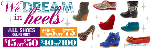 Up to $40 off Shoes at Charlotte Russe