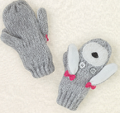 Poodle gloves