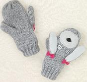 Poodle gloves