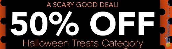 50% off Halloween items at ELF Cosmetics