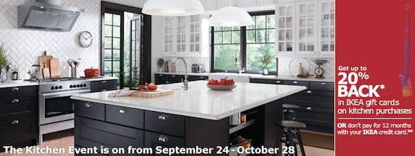 Shop The Ikea Kitchen Event And Receive Up To 20 In Gift