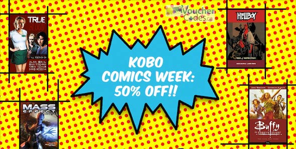 Kobo Comics Week image
