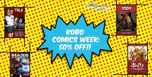 Kobo Comics Week image