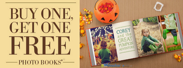 Buy One, get one free on photo books at MyPublisher