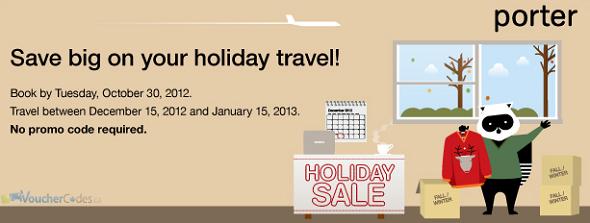 Holiday Savings at Porter