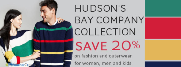 20% off select items at The Bay