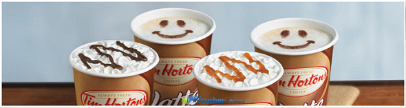 Special of Coffee at Tim Hortons